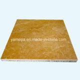 Natural Stone & Panel compuesto de núcleo de panal para fachadas