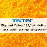 O pigmento amarelo 139/Isoindoline para plástico com alta intensidade de cor