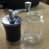 OEM de Draagbare Koffiemolen van Powed van de Koffie van het Roestvrij staal van het Huishouden Hand