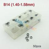 シムキットのBoschの共通の柵を調節するErikc B14の注入器は注入器修理シムのサイズにくさびを入れる: 1.20mm--Boch 0445110#のための1.38mm、0445120#
