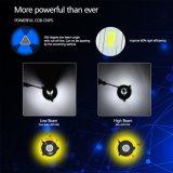 Poder superior bilateral 40W brilhante super 6500K da venda por atacado três bulbo do farol do diodo emissor de luz de 8000 lúmens
