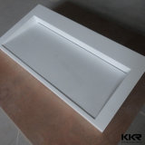 Kkr европейского современного искусственного камня с другой стороны в ванной комнате раковина (B170927)