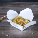 Biodégradable no 1 Blanc emporter Food Box