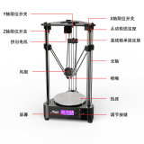 De Printer van Fdm van de Desktop door Anet A4 Tech Wow! 3D Printer