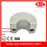 Maschinell bearbeitetes Teil der Aluminiumdrosselklappen-Buchse