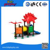 Campo de jogos ao ar livre das crianças plásticas dos jogos do parque de diversões para a venda (KP160429E)