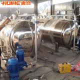 Vapor horizontal para a esterilização de retorta
