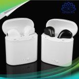 I7 беспроводные музыкальные наушники-вкладыши гарнитуры Bluetooth с микрофона для iPhone Samsung