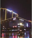 Im Freien farbenreiche LED-Wand-Unterlegscheibe-lineare Gebäude-Beleuchtung