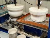 Deux plaques en céramique couleur/plat/bol de la machine de tampographie