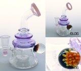 Qualitäts-Borosilicat Handblown rauchendes Wasser-Glasrohr mit Fabrik-Preis