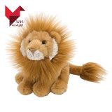 귀여운 동물원 동물성 소년 장난감 견면 벨벳 사자