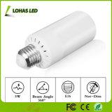 bombilla del bulbo E12 5W LED de la llama del modo de la llama 3-Mode/del modo de iluminación general/del modo de respiración LED