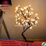 Indicatore luminoso dell'albero di paesaggio della ciliegia dei bonsai della decorazione di natale di illuminazione del LED