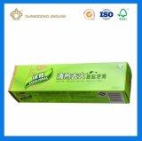 カスタム高品質は印刷した折られた歯磨き粉ペーパー包装ボックス(板紙箱)を