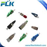 Sc/LC/FC/St/E2000/Mu Upc/APC는 유형 고쳐진 섬유 광학적인 감쇠기를 연결한다