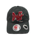 方法浮彫りになる習慣またはレーザーのロゴの未構造化の栓抜きの野球帽