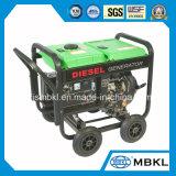 2Квт 2.5kVA стабильной дизельного генератора с помощью рукоятки и колеса