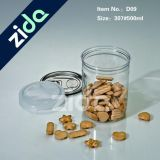 Botella al por mayor del plástico de los materiales de empaquetado del abrigo del alimento de China