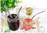 Les pailles en acier inoxydable approuvé par la FDA de boire de pailles de métal