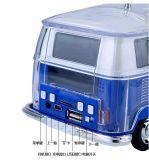 Mini altoparlante portatile all'ingrosso di Bluetooth del bus con la visualizzazione di LED variopinta