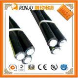 Qualitäts-obenliegender Aluminiumlegierung-Leiter zusammengerolltes ABC-Luftkabel AAC ACSR/Belüftung-ABC-Kabel