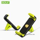 Smartphoneのための元のゴルフ空気アウトレット車の立場の電話ホールダー