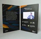 Kundenspezifische LCD-Bildschirm-Video-Visitenkarte