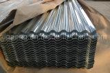 Piatto di tetto galvanizzato ondulato installazione facile del ferro per l'Algeria