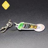 Foto stampata stampa su ordinazione della catena chiave di Nypd del metallo dei fornitori della Cina