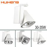 옥수수 속 LED 30W는 상업적인 점화 LED 궤도 빛을 스포트라이트로 비춘다
