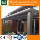 Pérgola de aluminio moderna con el material para techos del panel de la PC