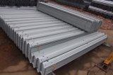 Квалифицированных оцинкованных Guardrail на заводе поставщика