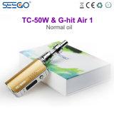 Seego 2017 G-A heurté l'air 1 et le nécessaire de fumage sain de modèle de cadre de cigarette de Tc-50W E