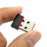 小型Nano USB WiFiのアダプター150m USBの無線ネットワークLANカード