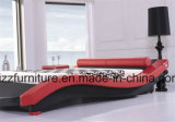 Re molle modulare Size Leather Bed dell'insieme di camera da letto