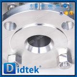 Didtekは低温学のステンレス鋼の球弁フランジを付けたようになった
