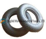 3.50-8 Pneumatisches Gummirad mit Stahlfelge