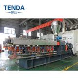 Máquina Extrusora de doble husillo para la producción de PP/PE + la fécula de maíz material de relleno