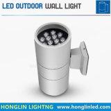 Indicatore luminoso impermeabile esterno della parete di IP65 LED su e giù 24wx2heads 48W