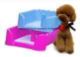 屋内小犬ペット家の取るに足らないトレーニングの小便のパッドのマットの皿の洗面所