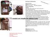 Bourse cachée anti-vol en nylon de collet de poche de sac de pochette d'IDENTIFICATION RF de course