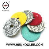 최신 고품질 다이아몬드 지면 닦는 패드 공장 판매