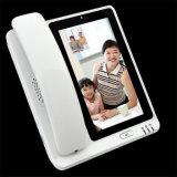 Telefono del tavolo dello schermo di tocco di colore Whasapp/Skype APP 4G Fwp Lte 4G GSM