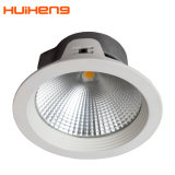 COB Downlight LED 18W con 145mm LED Empotrables de recorte