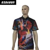 人のための卸し売りスポーツ・ウェア100%年のポリエステル方法ポロのTシャツ