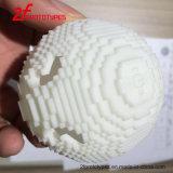 prototipo rápido en el material de cristal de Nylon+Fiber, prototipo de la impresora 3D de SLS SLA