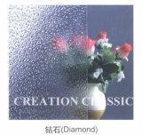 4mm-8mm Raum-Diamant-gekopiertes Glas