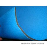O neopreno de borracha colorido da tela de matéria têxtil cobre 3mm para o Wetsuit