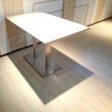 현대 스테인리스 식당 테이블 및 의자